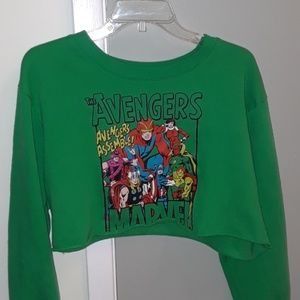 Avenger Crop Top Sweater